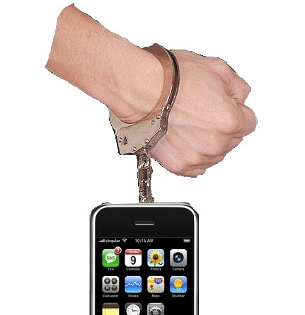 iPhone, DRM