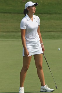 Wie Just Misses Practice Putt