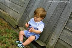 Day at the Farm (Deja Vu Photography (debbieskids)) Tags: boy 1 farm stick supershot abigfa