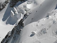 Le altre cordate sull'altra via (lorcaste) Tags: cai palu alpinism diavolezza
