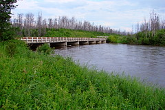Highway 10 Bridge (canadianlookin) Tags: vacation manitoba northern flinflon highway10 keepexploring