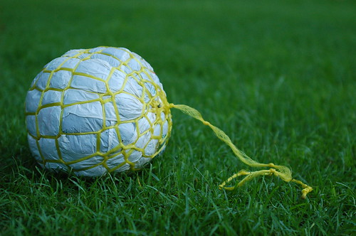 plastic bag soccer ball