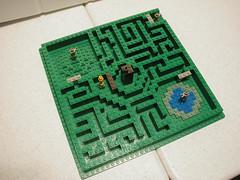 Wizard's Maze (SavaTheAggie) Tags: castle lego wizard mini hedge micro maze riddle
