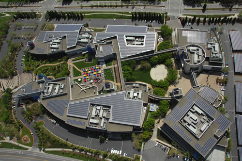 Solar Panels on the GooglePlex