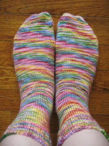 Sunshine Yarns Wildflowers socks_03