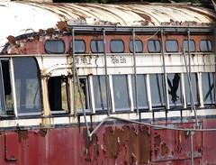 rusty trolley - by johnpiercy