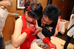 Wedding of College Schoolmate - Anchi Chang (*Yueh-Hua 2016) Tags: wedding canon eos taiwan sheraton tamron  30d  fourpoints  a16 taipeicounty  canonspeedlite430ex canoneos30d horizontalphotograph  tamronspaf1750mmf28xrdiii     2007august    sindiancity anchichang collegeschoolmate