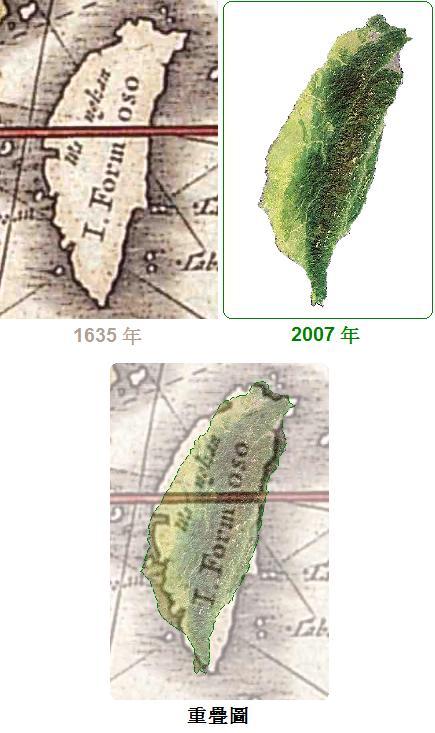 無限台南-台灣古地圖1635年-2