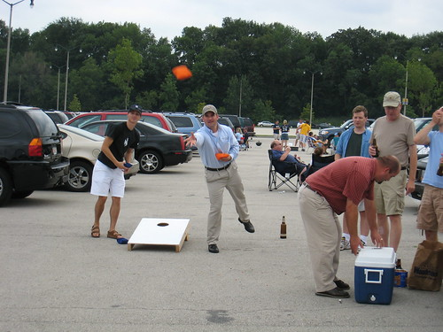 This game is called bags, not cornhole. Got it?