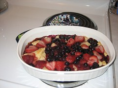 French Granny berry dessert