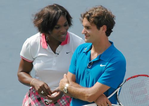 Roger y Serena Williams 1236110433_9f70c247b4
