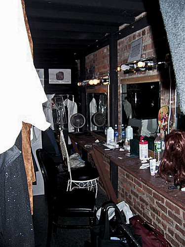 The Brick's Dressing Room