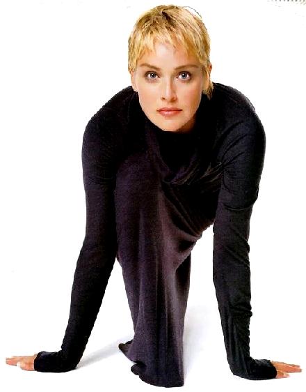 Sharon Stone, belleza madura
