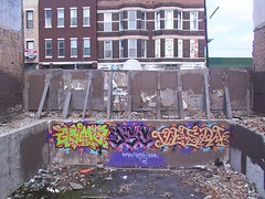 Goma DSC Vespa (Mr. Montrose) Tags: chicago graffiti vespa goma milwaukee logansquare dsc justchicagoart