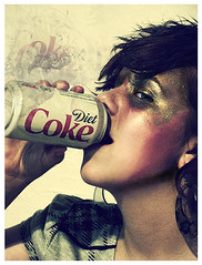Cola (ngwagster) Tags: face hair crazy friend jay cola shots makeup coke diet coca