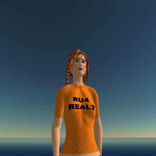RU4 Real tee - Cybergrrl Oh Teez
