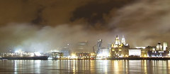 After The Display (andy_sunley) Tags: clouds liverpool river waterfront mersey qe2 nightphotograpy wirral merseyside liverbuilding rivermersey capitalofculture2008 greatshipsoftheworld