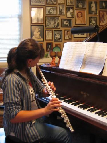 Flute Run Through