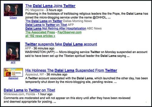dalai lama twitter - Google News