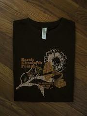 Sarah's Organic Black Women's T-Shirt