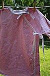 Kimono Style Pink Shimmer Dress 3T
