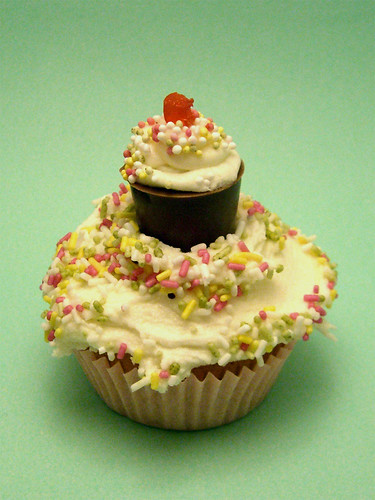 Cupcake With MiniCupcake