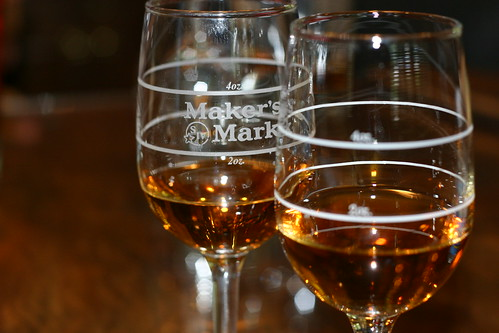 Maker's Mark (left) and Maker's 46 (right)