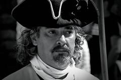 otra epoca (chejoma) Tags: blackandwhite blancoynegro retrato cara bn rostro soldado barroco almansa