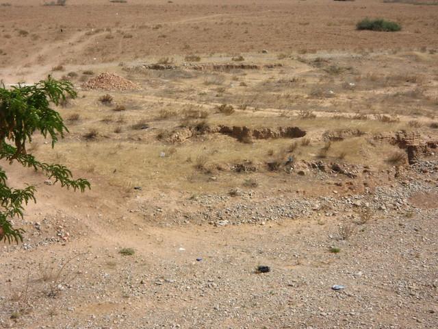 Paso del cauce seco del rio Igan, donde el 23 de julio de 1921 el Regimiento de Caballería de Alcántara, se inmoló gloriosamente