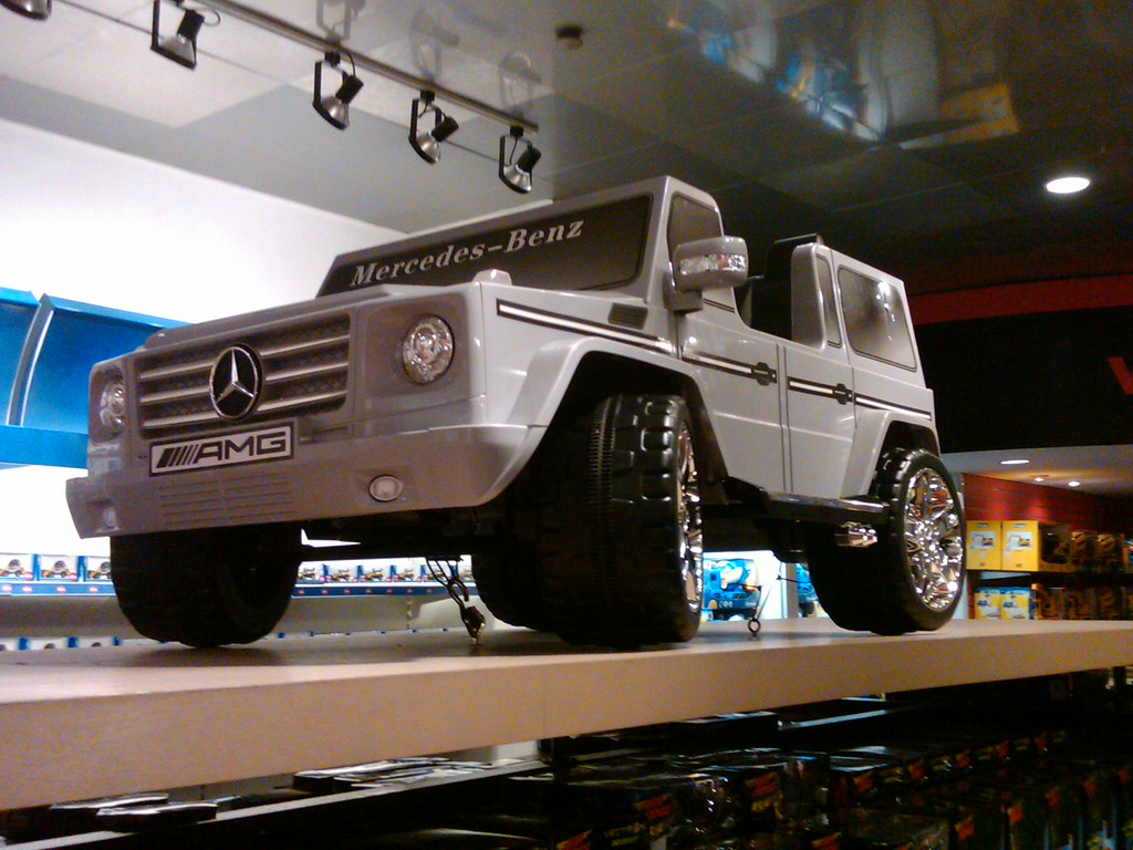 Mercedes Bens Ride on Toy Car