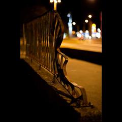 Day One Hundred Thirteen (David Dahlin) Tags: bokeh railing unseen