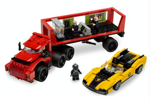 LEGO Speed Racer 8160 Cruncher Block and Racer X On Sale