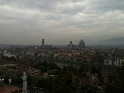 Florence seen from Piazzale Michaelangelo