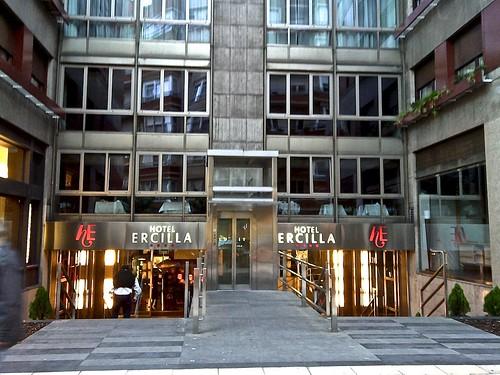 Exterior del hotel Ercilla (c) tripadvisor.com