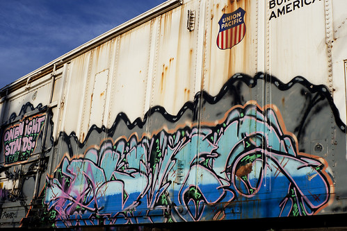 Train Graffiti #2 [Payson 13/52]