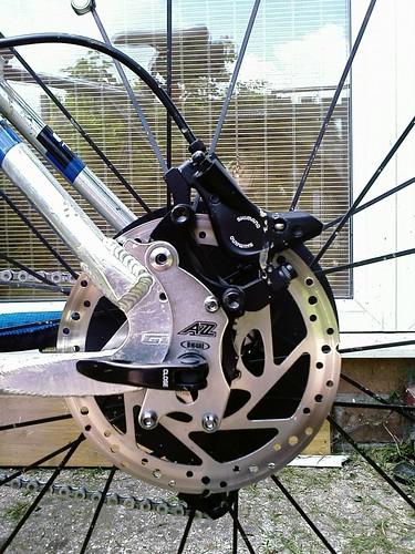 Retrofitting Disc Brakes To A Non Disc Frame Bike Forums