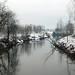 Torrente Agogna - Dopo una nevicata