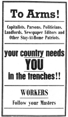 IWW_anti-conscription_poster_1916