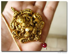 ganesha (Archana Ramaswamy) Tags: ganesha deity pendant ramaswamy archana dementa archanaramaswamy