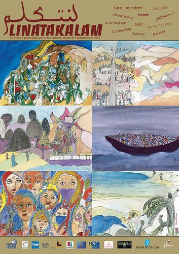 Cartel Linatakalam (autor: Mohamed Raiss el Fenni)
