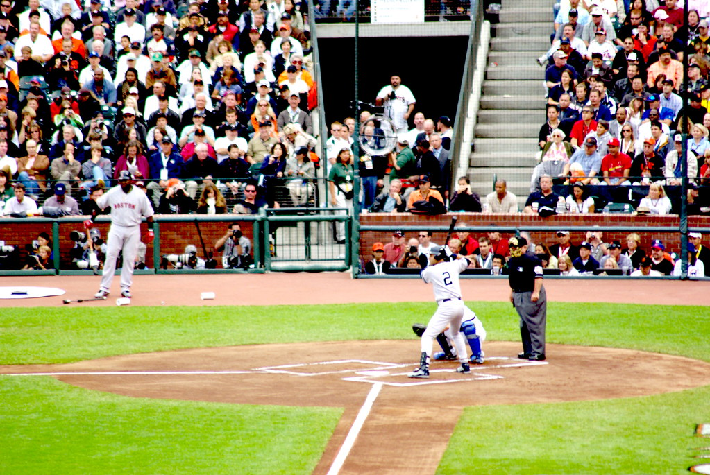 "2007 MLB All-Star Game - Derek Jeter at the Plate and David Ortiz ""Big Papi"" on Deck"