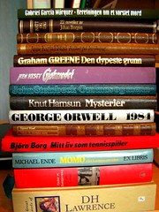 Summer Reading(s) (phunkstarr) Tags: summer norway reading lawrence literature orwell garcia greene graham steinbeck kesey ende borgen marquez hoel hamsun dosojevskji