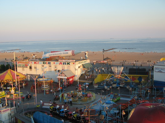 Astroland from Wonder Wheel