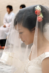 Wedding of College Schoolmate - Anchi Chang (*Yueh-Hua 2016) Tags: canon eos catholic taiwan l catholicchurch  30d   taipeicounty   canonspeedlite430ex canoneos30d verticalphotograph  canonef70200mmf4lisusm is  l  2007august   sindiancity anchichang collegeschoolmate