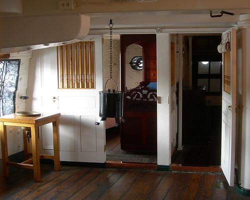 Captain's quarters, USS Constitution