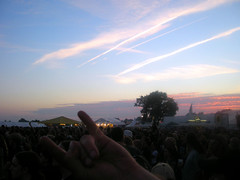 Sunset in Wacken
