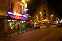 Paris by night, close to Pigalle (robseye76) Tags: paris france pary