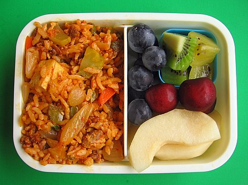 Latin-Korean fried rice box lunches