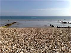 Between your groynes.. (BuhSnarf) Tags: beach groyne bognorregis augustbankholidayweekend