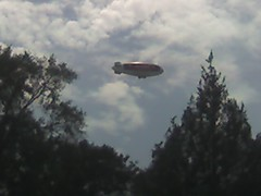 Blimp over Butler Cleaners